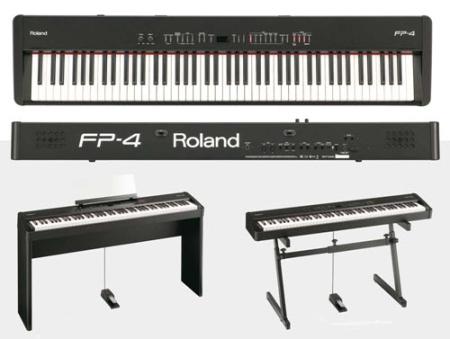 פסנתר חשמלי נייד Roland FP-4F