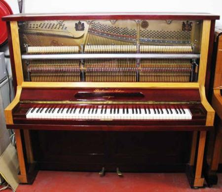 פסנתר עומד יד שניה פסנתר גרמני מעוצב Shidmayer