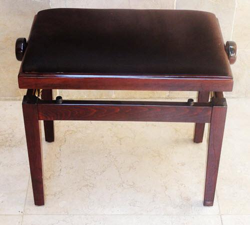 ספסל בצבע חום עם קטיפה חומה Xd1Brown