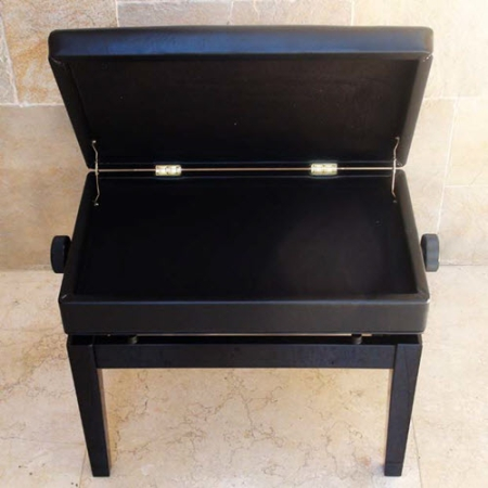 כסא לפסנתר ספסל לפסנתר עם מקום לתווים XD3- #1