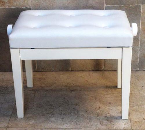 כסא לפסנתר XD2 White