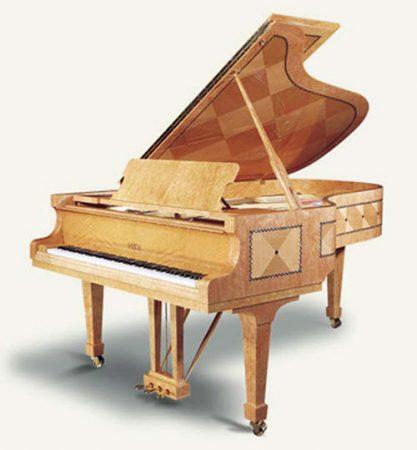 פסנתר כנף חדש פציולי עיצוב מיוחד Chiocciola