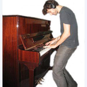 הפסנתר השקט פסנתר עם מערכת השתקה Otto Meister 110 + Silent