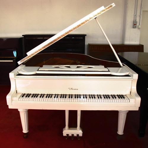 מודיעין פסנתר כנף לבן יד שניה בן 3 שנים Otto Meister XG 168 W - עולם הפסנתרים XR-13