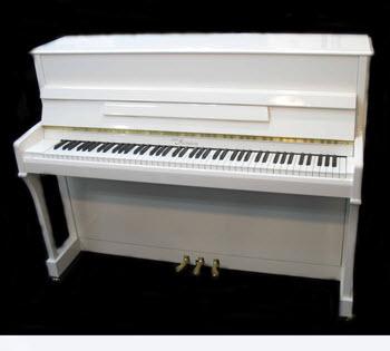 פסנתר עומד חדש Otto Meister XU110 white